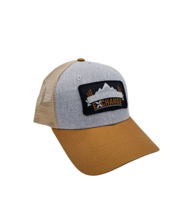 ABX Hat Trucker - Grey & Tan