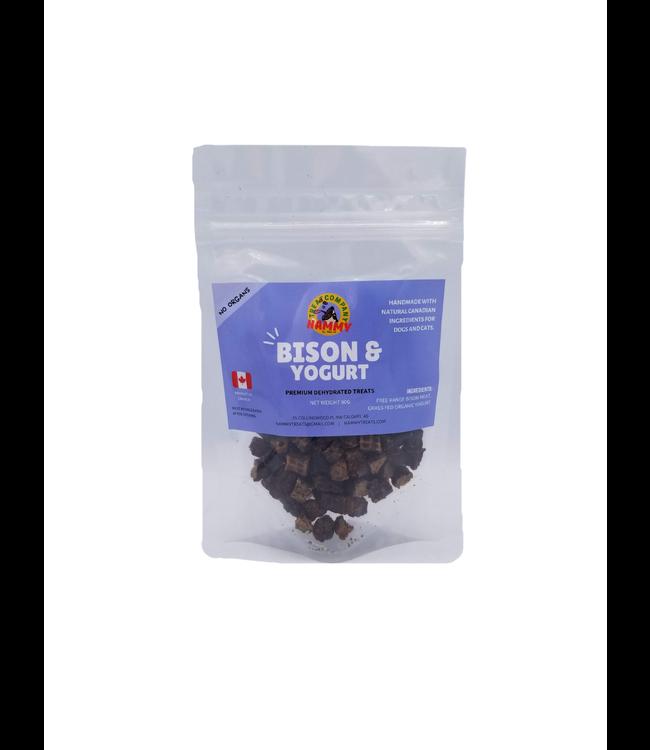Nammy Treats - Bison & Yogurt 90g