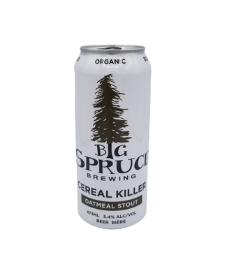Big Spruce Brewing Big Spruce Brewing Cereal Killer Oatmeal Stout 473ml