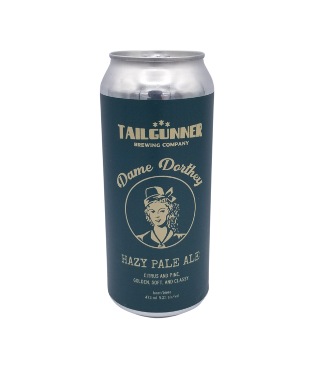 Tailgunner Brewing Co. Dame Dorthey Hazy Pale Ale 473ml