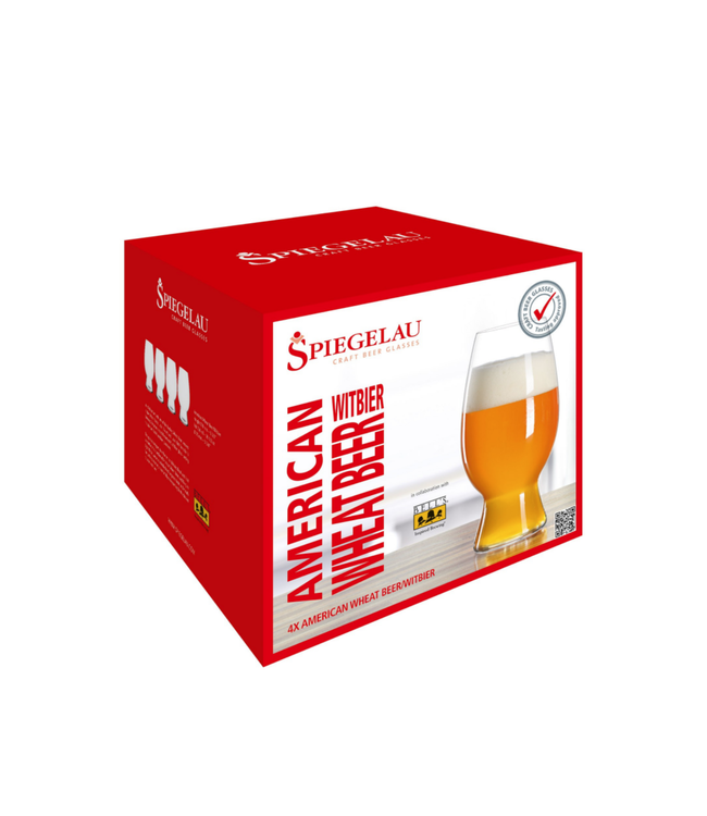 Craft Beer Glass - Spiegelau Wheat Beer Set of 4