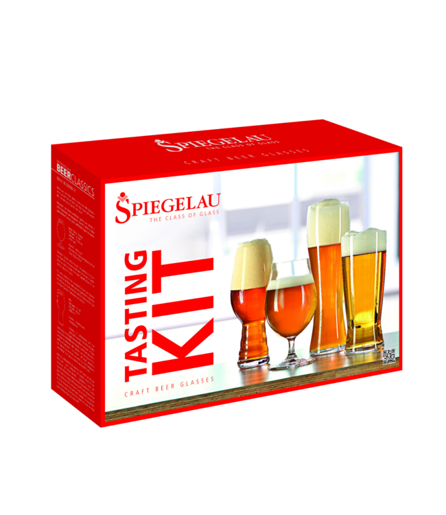 Craft Beer Glass - Spiegelau Tasting Kit Set of 4