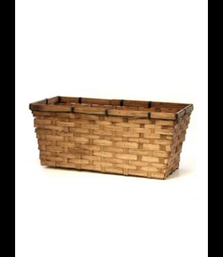 """14"""" Natural Bamboo Basket"""