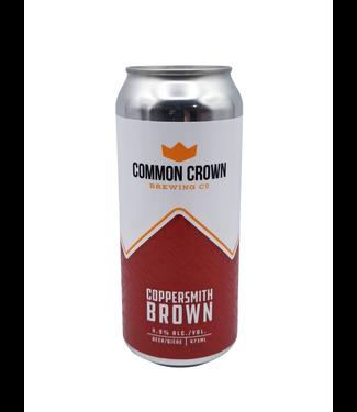 Common Crown Brewing Co. Common Crown Brewing Coppersmith Brown Ale 473ml