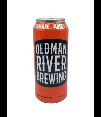 OldMan River Brewing Oldman River Brewing St. Joe's Abbey Style Brown Ale 473ml
