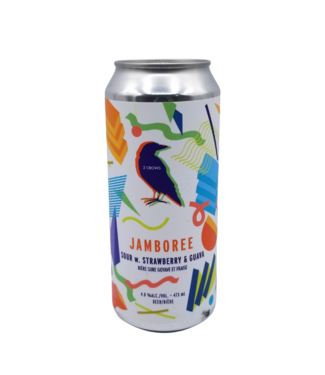 2Crows Brewing 2Crows Brewing Jamboree Strawberry Guava Sour 473ml