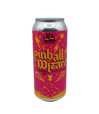New Level Brewing New Level Brewing Pinball Wizard Raspberry Sour 473ml