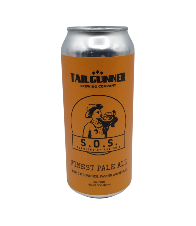Tailgunner Brewing Co. S.O.S. Finest Pale Ale 473ml