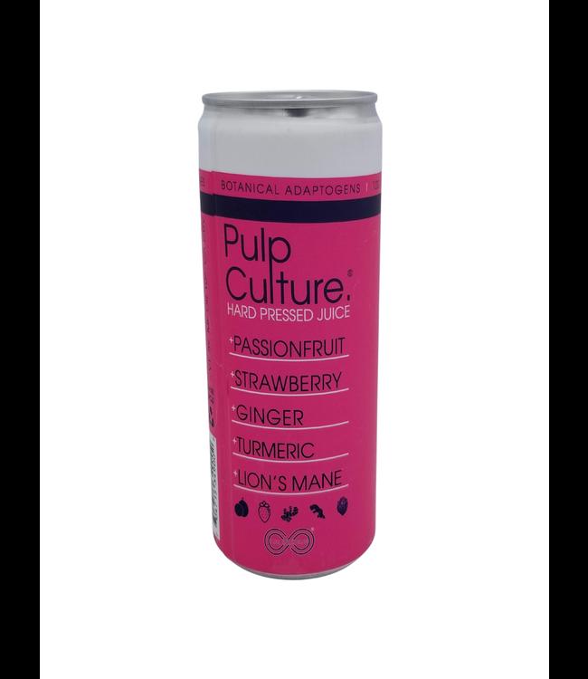 Pulp Culture 'Hustle' Passionfruit Strawberry Hard Pressed Juice 355ml