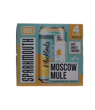 Sparkmouth Mocktails - Moscow Mule 4x355ml