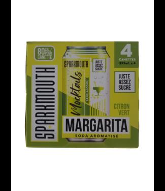 Sparkmouth Mocktails - Lime Margarita 4x355ml