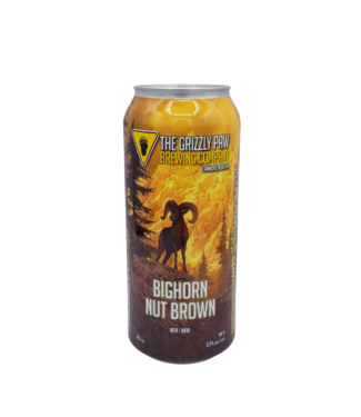 Grizzly Paw Brewing Grizzly Paw Brewing Bighorn Nut Brown 473ml