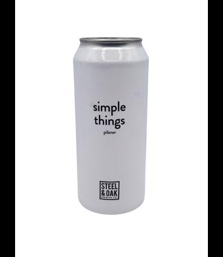 Steel & Oak Brewing Co. Steel & Oak Brewing Co. Simple Things Pilsner 473ml