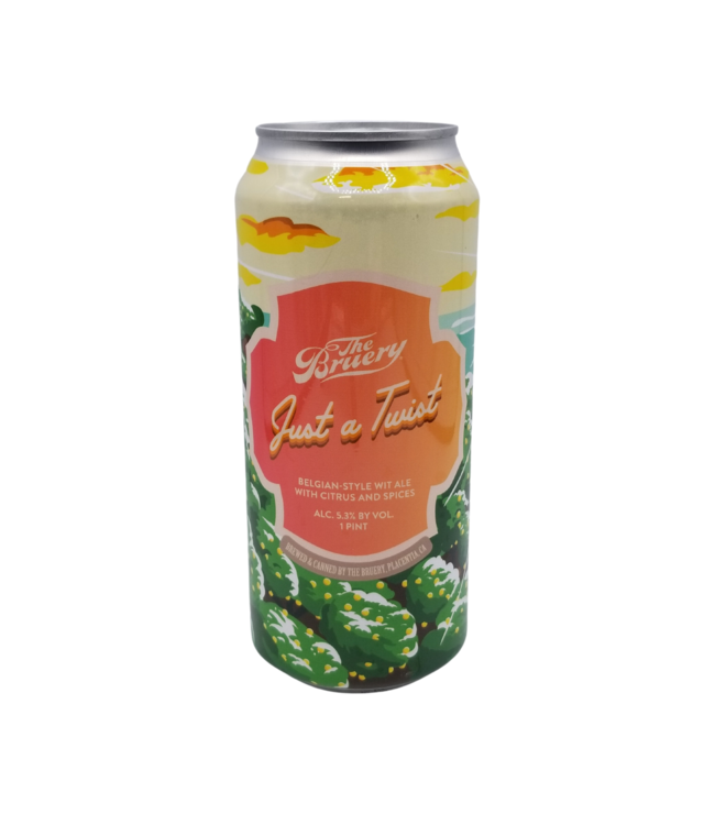 The Bruery Just a Twist Belgian Style Wit 473ml