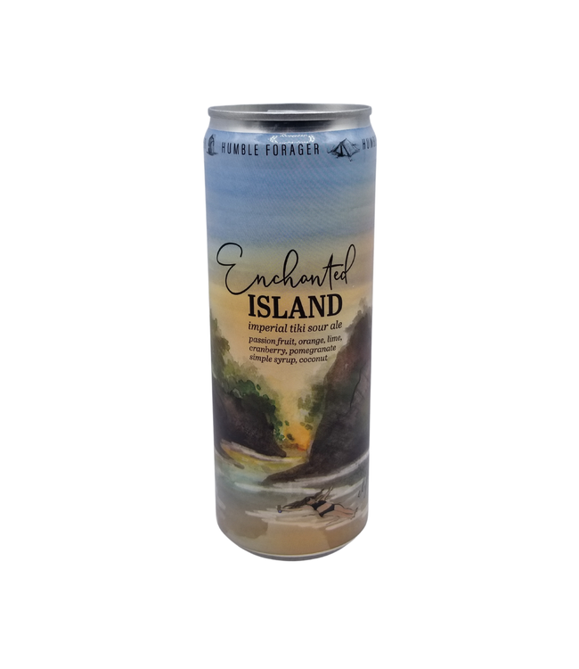 Humble Forager Brewery Enchanted Island (v2) Imperial Tiki  Sour 355ml