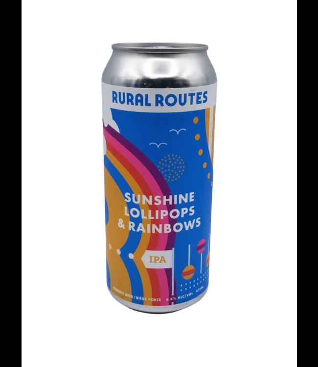 Rural Routes Sunshine Lollipops & Rainbows IPA 473ml