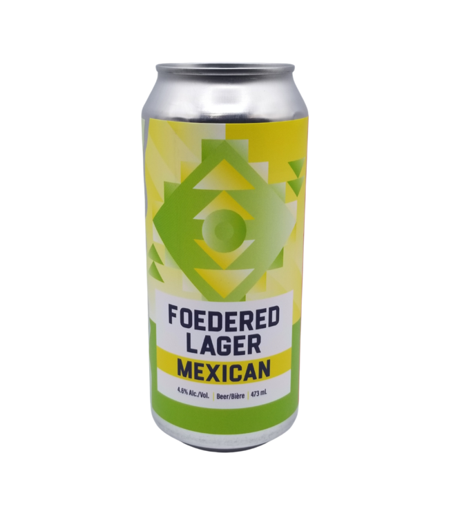 Blindman Brewing Foedered Mexican Lager 473ml
