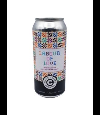 Born Colorado Brewing Born Colorado Brewing Labour Of Love Wheat Ale W/ Lavender & Lemonade 473ml