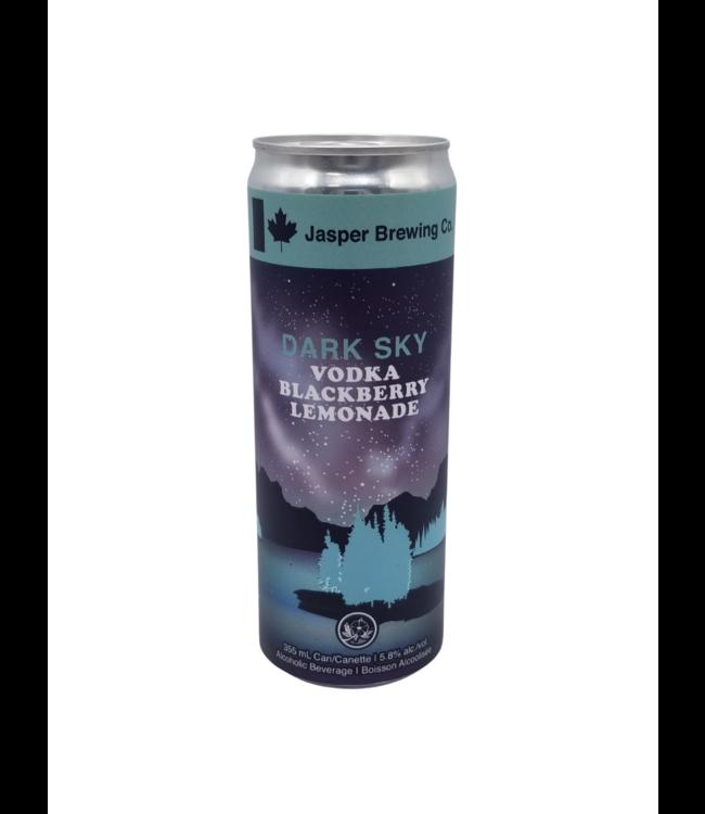Jasper Brewing Dark Sky Vodka Blackberry Lemonade 355ml