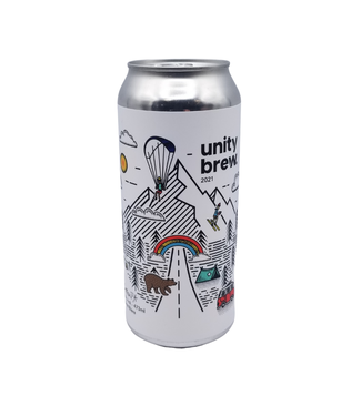 Grizzly Paw Brewing Grizzly Paw Brewing Unity Brew 2021 Session IPA 473ml