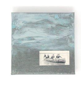 "Amy Mason Amy Mason - Seven Canoe #1 6"" x 6"""
