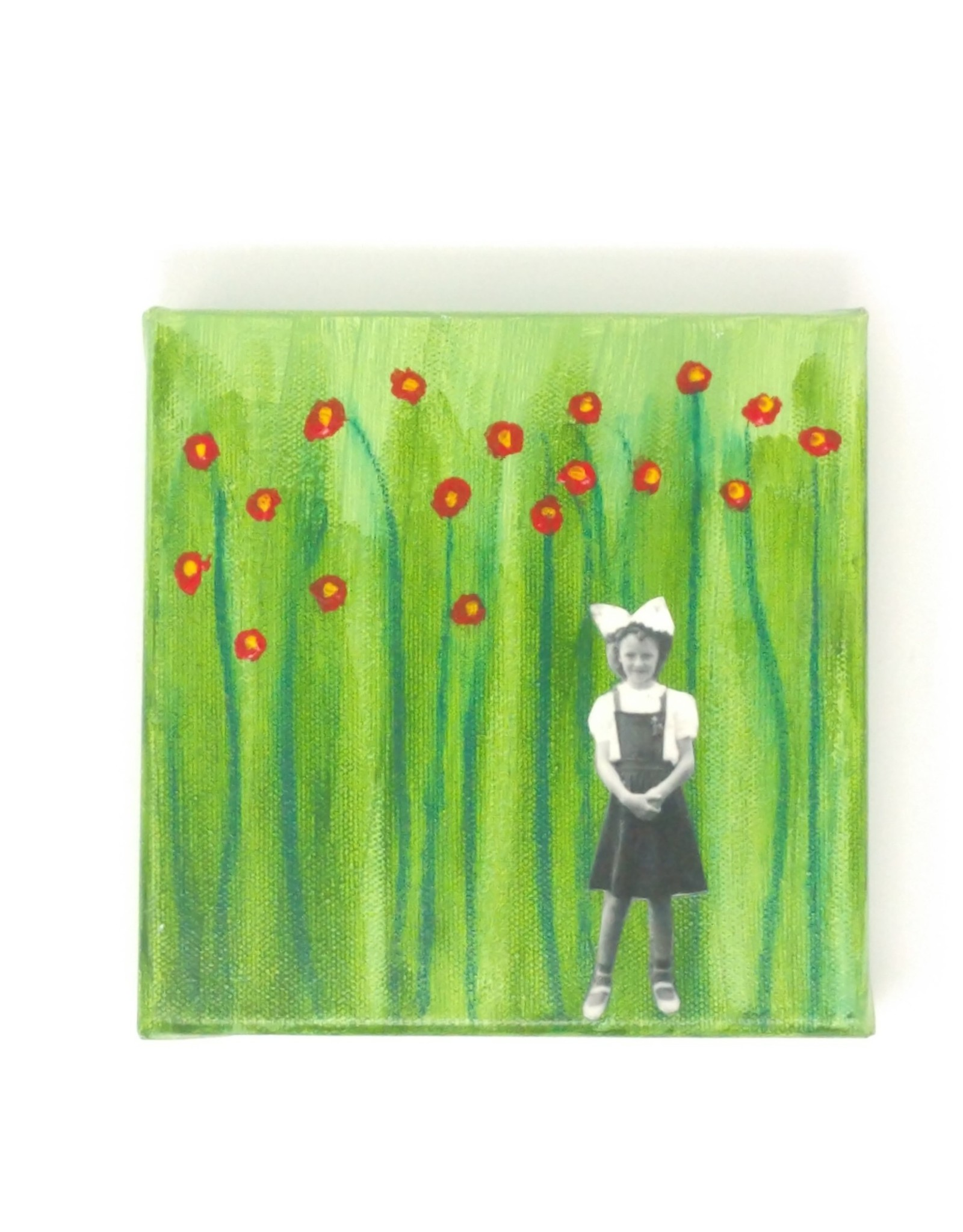 "Amy Mason Amy Mason - Poppy Girl 6"" x 6"""