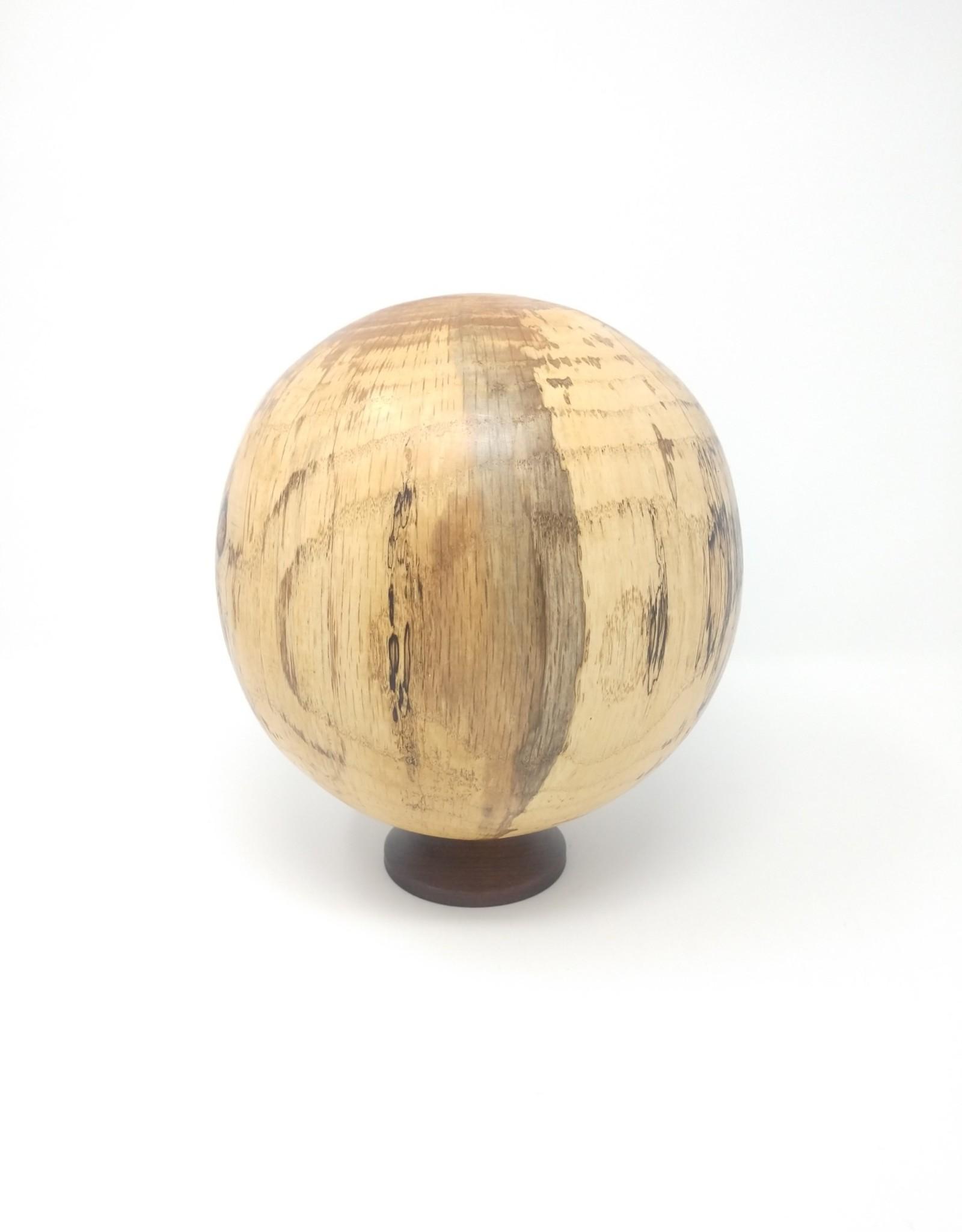 Art Jalbert Art Jalbert - Spalted Oak Hollow Ball