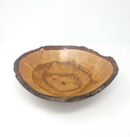 Art Jalbert Art Jalbert - Oak Burl Live Edge Bowl