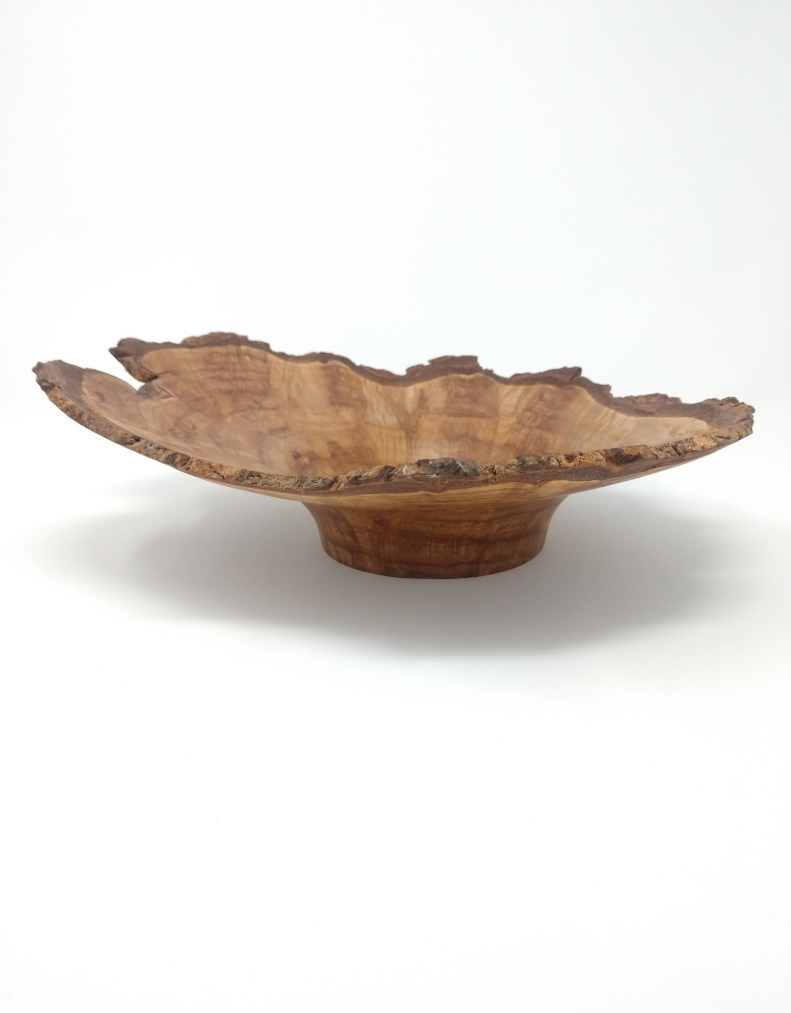 Art Jalbert Art Jalbert - Maple Burl Live Edge Bowl
