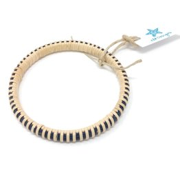 KLM Designs KLM Designs - Sconset Bangle Navy