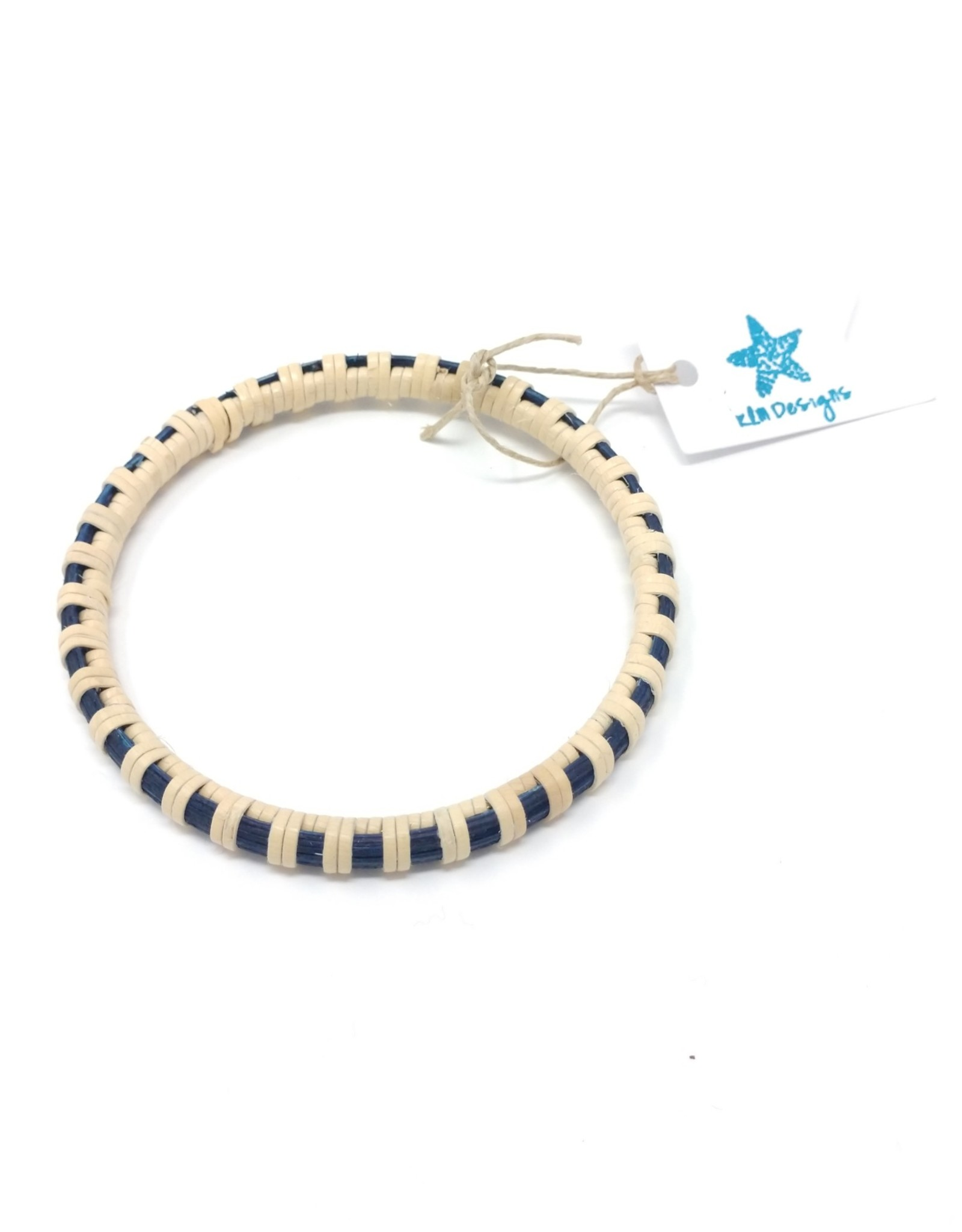 KLM Designs KLM Designs - Surfside Bangle Navy