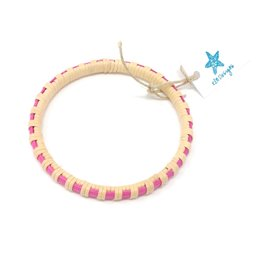 KLM Designs KLM Designs - Surfside Bangle Pink