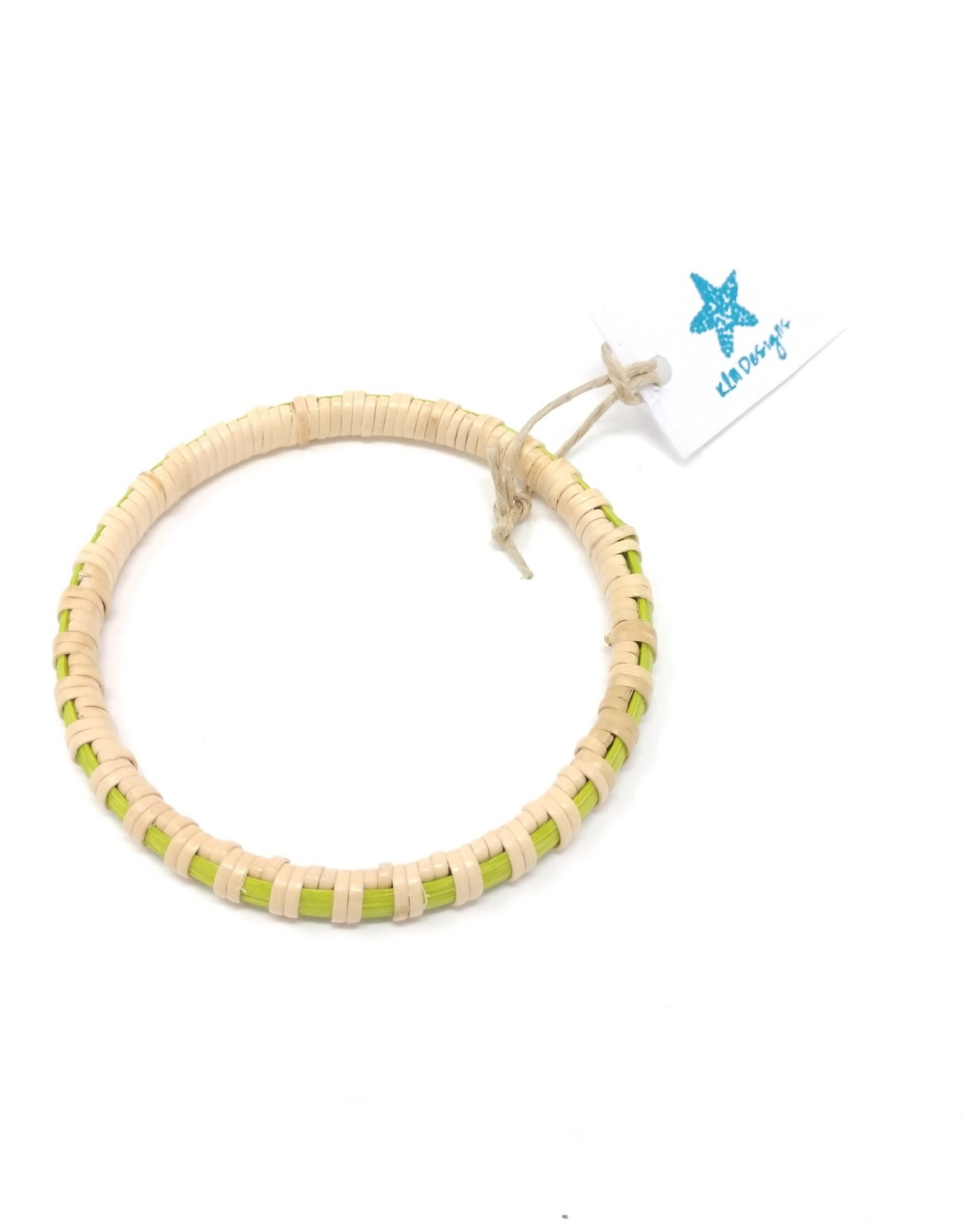 KLM Designs KLM Designs - Surfside Bangle Lime