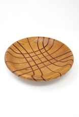 Art Jalbert Art Jalbert - Oak Plate w Brazilian Cherry Inlay #1