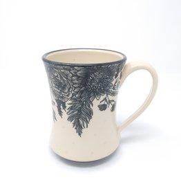 Erica Lynn Hood Erica Lynn Hood - Floral Mug #2