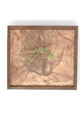 Bethia Brehmer Bethia Brehmer - Great Cat Brown Clock Etching