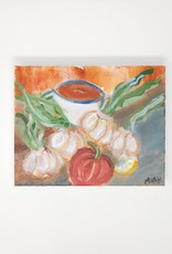 "Miah Nate Johnson MIAH - Garlic & Tomato 8"" x 10"""