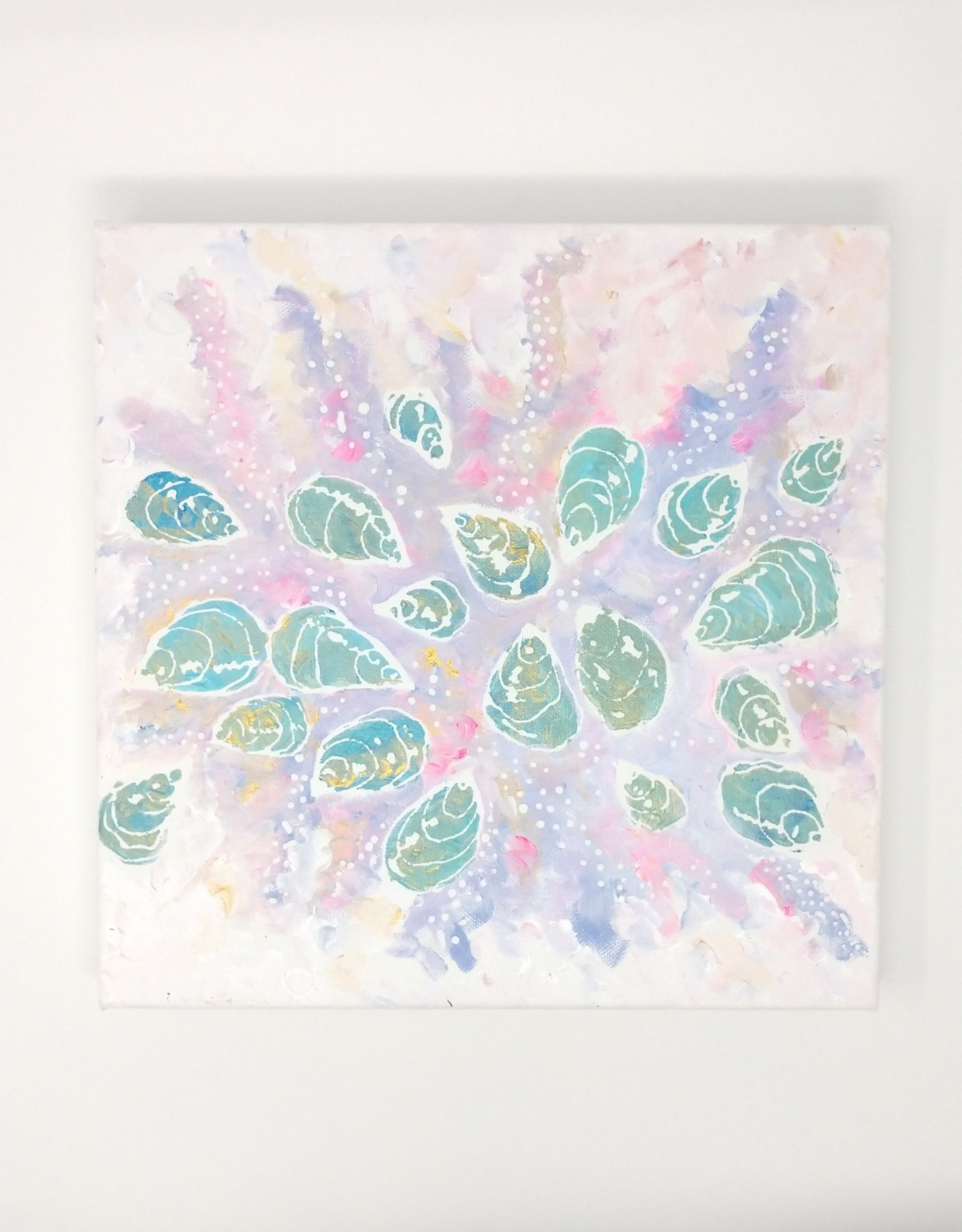 "Stephanie Swanson Stephanie Swanson - Mermaid Scales 12"" x 12"""