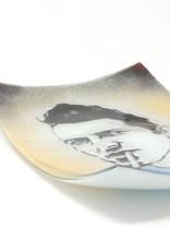 Jennifer Rainey & Adam Bruce Wentworth Jennifer Rainey and Adam Bruce Wentworth - Joe Strummer Modern Glass Tray