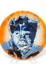 Jennifer Rainey & Adam Bruce Wentworth Jennifer Rainey and Adam Bruce Wentworth - Wolf Man Glass Plate