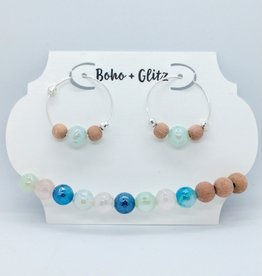 Boho & Glitz Boho & Glitz - Earring and Bracelet Combo ID1
