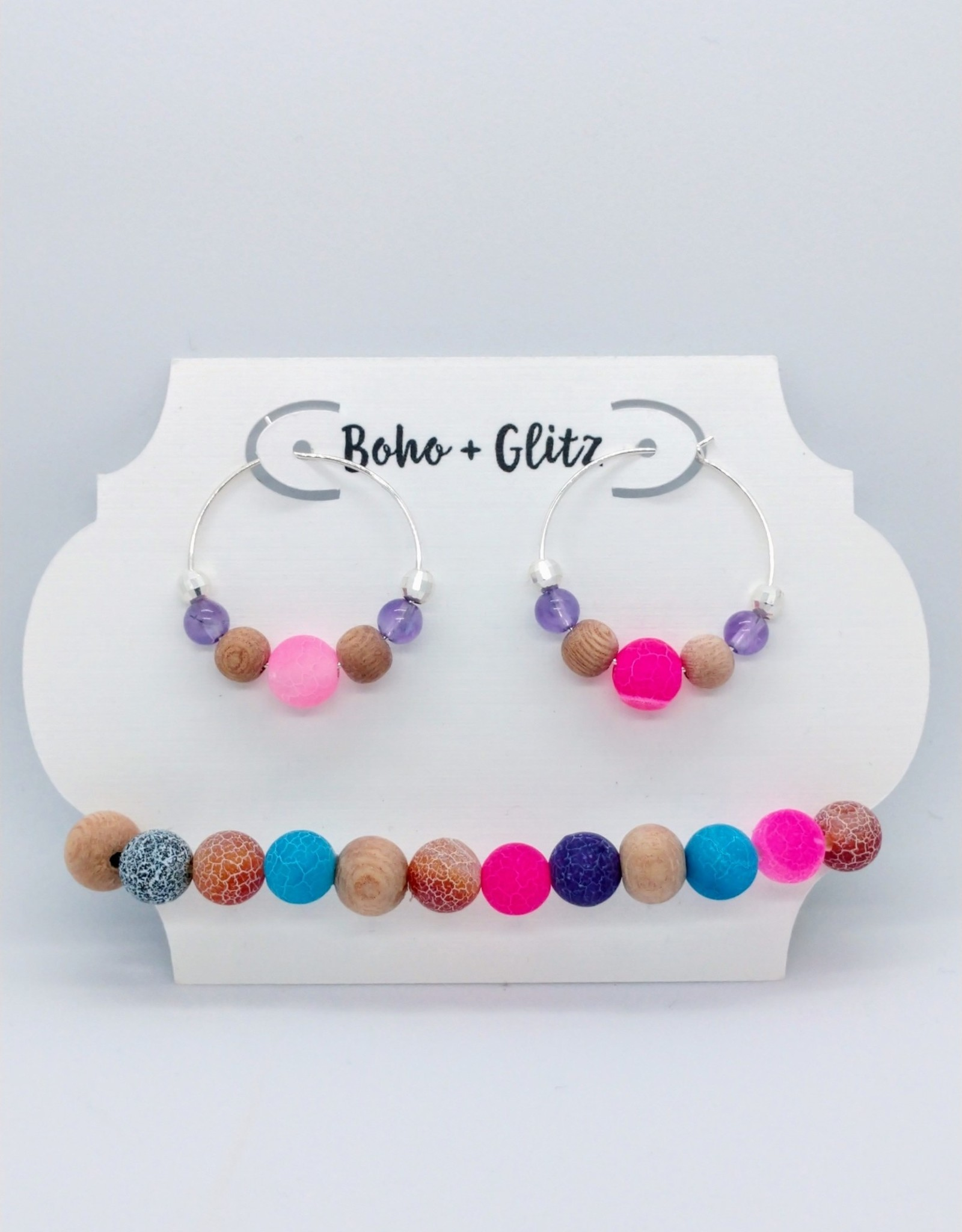 Boho & Glitz Boho & Glitz - Earring and Bracelet Combo ID2