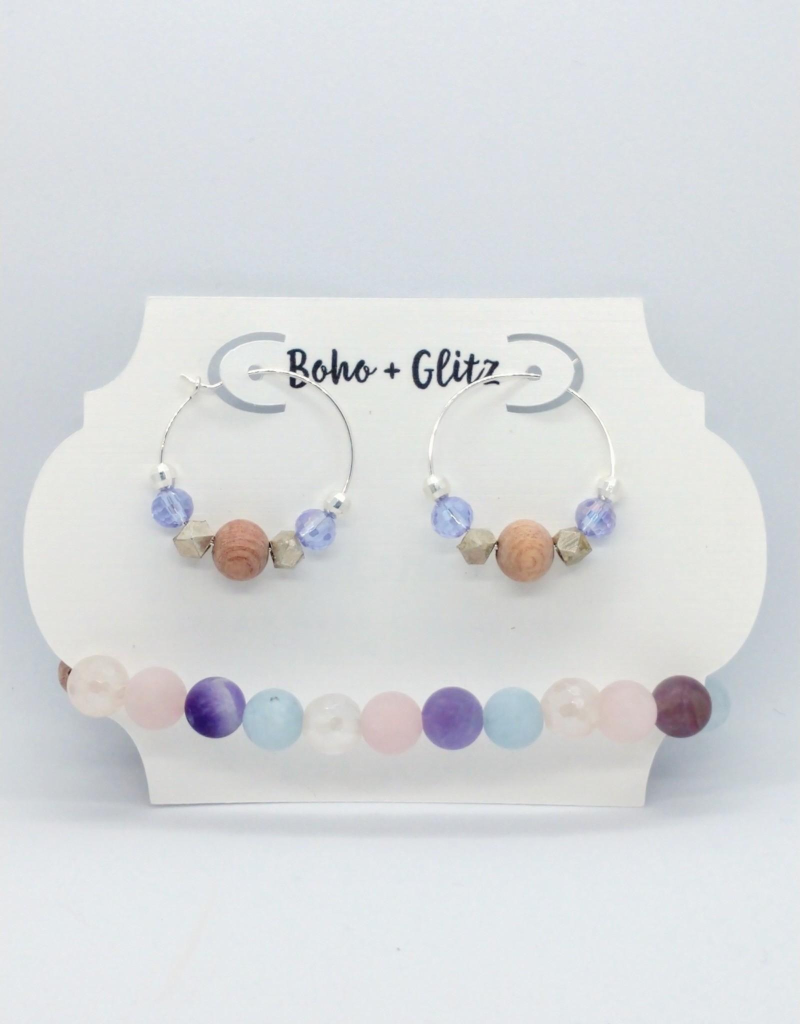 Boho & Glitz Boho & Glitz - Earring and Bracelet Combo ID3