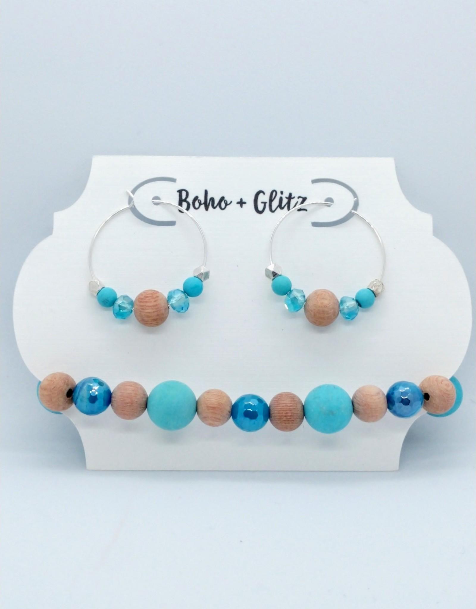 Boho & Glitz Boho & Glitz - Earring and Bracelet Combo ID4