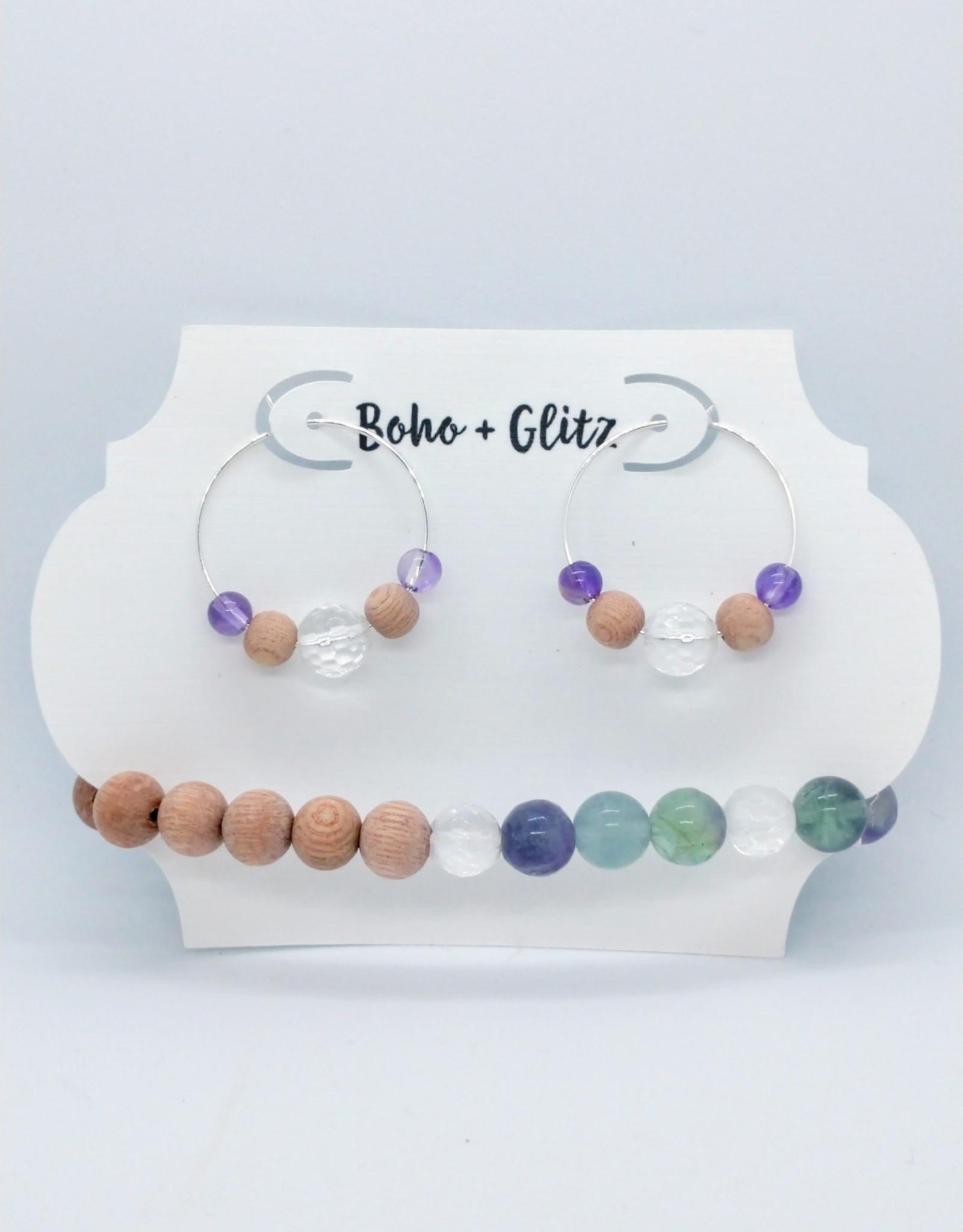 Boho & Glitz Boho & Glitz - Earring and Bracelet Combo ID5