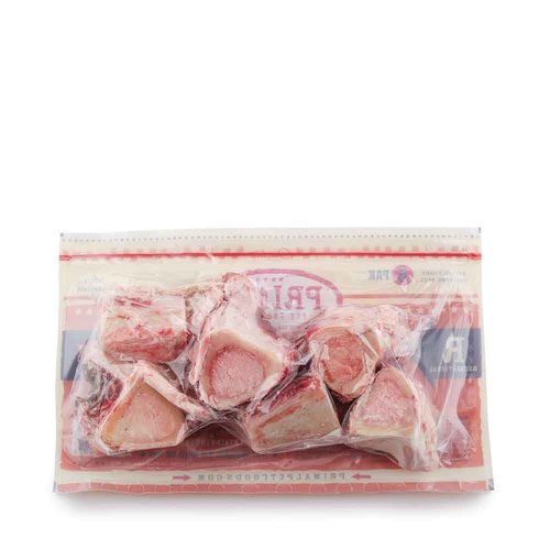 Primal Frozen Beef Bones 2in 6 pack