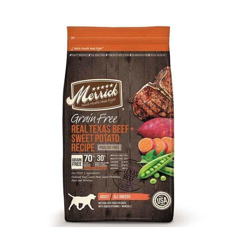 Merrick Dog Beef and Sweet Potato