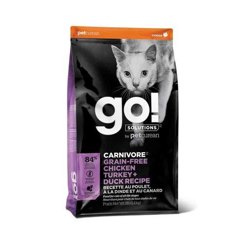 GO! Cat Carnivore Chicken Turkey Duck