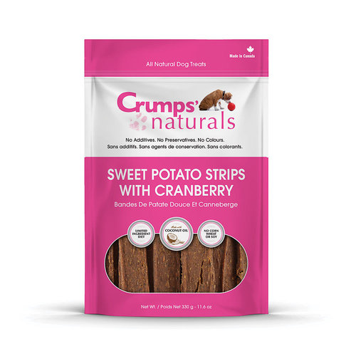 Crumps Sweet Potato With Cranberries 160g