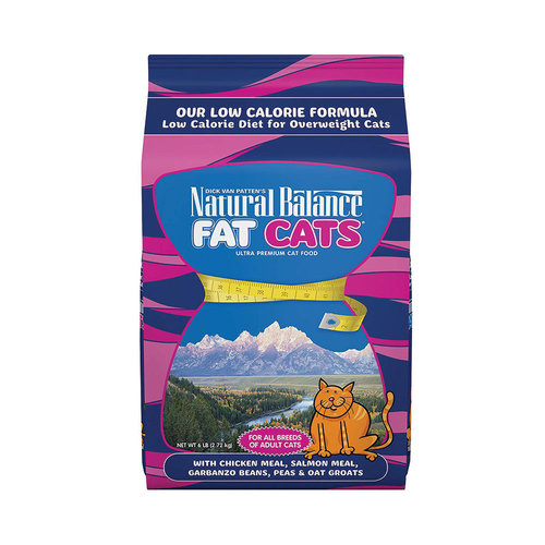 Natural Balance Cat Fat Cats Chicken and Salmon 5lb